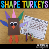 Shape Turkeys - Thanksgiving Craft