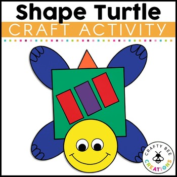 Shape Turtle Cut and Paste