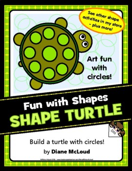 Shape Turtle—A Quick Art Activity Using Circles!