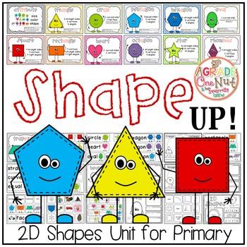 Shape UP! {2D Shape Activities, Geometry}