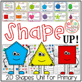 Shape UP! {2D Shape Activities, Geometry}