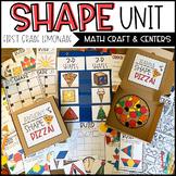 Shape Unit and Craftivity