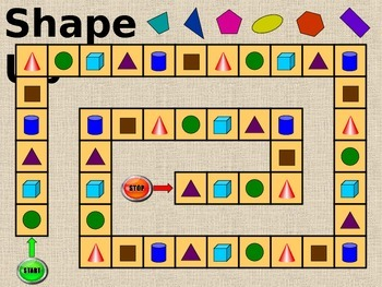 Shape Up - 2D & 3D Shapes