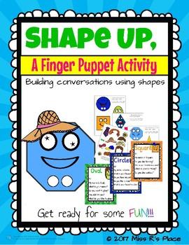 Shape Up, A Finger Puppet Activity