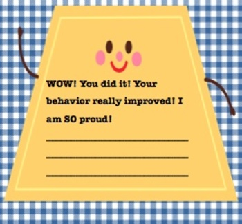 Shape Up- Better Behavior Encouragement