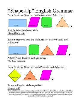 Shape Up English Grammar - Adjectives