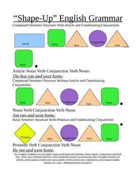 Shape Up English Grammar - Coordinating Conjunctions