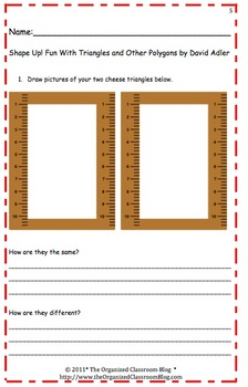 Shape Up! Polygon Activity Packet