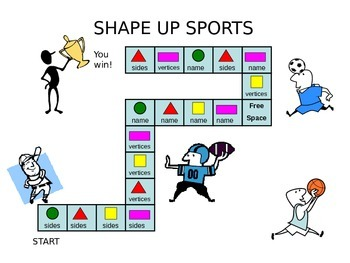 Shape Up Sports - 2D Shapes