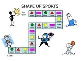 Shape Up Sports - 2D Shapes
