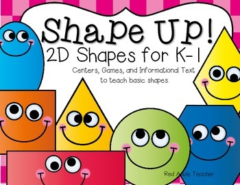 Shape Up!--Two Dimensional Shapes for PK-1