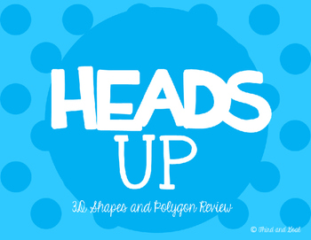 Heads Up Geometry Game