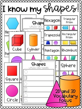 Shape Vocabulary Center