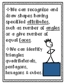 Shape Vocabulary Posters