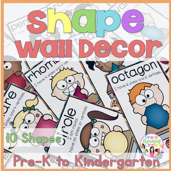 Shape Wall Decor(Chevron & Burlap Look)