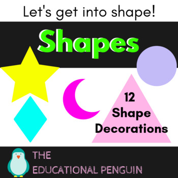Shape Wall Decorations/Flash Cards