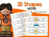 2D Formas geométricas - Relojes