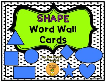 Shape Word Wall Cards