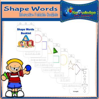 Shape Words Booklet