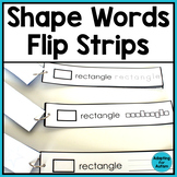 Shape Words Work Task for Special Education and Autism