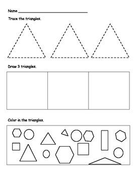 Shape Worksheets