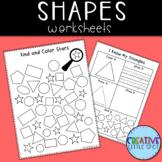 Shapes Worksheets Math
