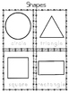 Shape Worksheets for Preschool ELL