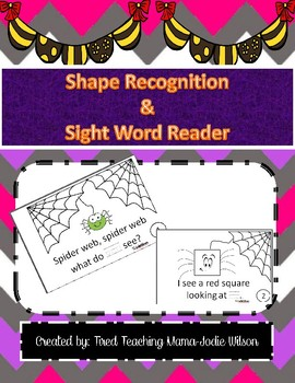 Shape Recognition, Color Recognition and Sight Words You a