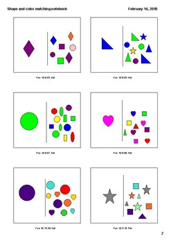 Shape and Color Matching