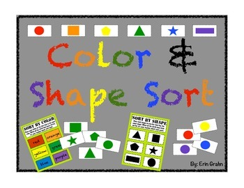 Shape and Color Sort