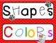 Shape and Colors Dog Theme Classroom Decor