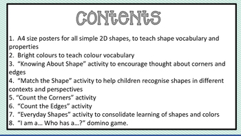 Shape and Colour - UK English