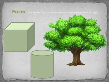 Shape and Form Lesson Power Point