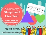 Shape and Line Skill Test