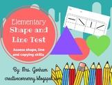 Shape and Line Skill Test