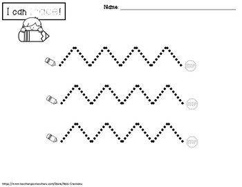Shape and Line Tracing Sheets