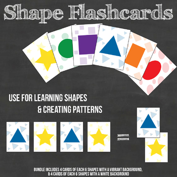 Shape and Pattern Flashcards