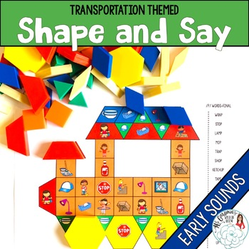 Shape and Say: Transportation Early Articulation Sounds