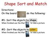 Shape and Sort Match