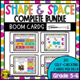 Shape and Space Grade 5-6 | Boom Cards Bundle