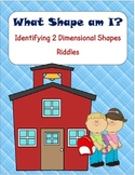 Shape attributes: 2D shapes