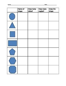 Shape attributes (2D shapes)