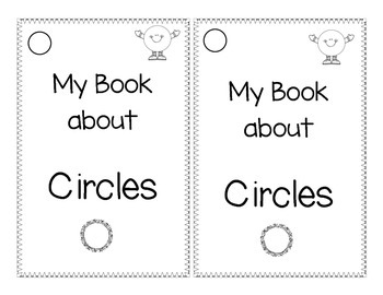 Shape book about Circles