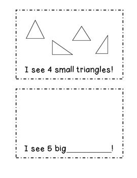 Shape Book for Emerging Readers!