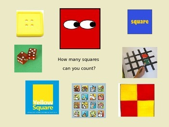 Shape book or PowerPoint to stimulate senses