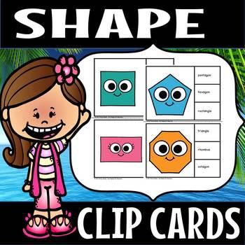 Shape clip cards(FLASH FREEBIE)