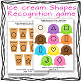 Shape matching Ice cream game