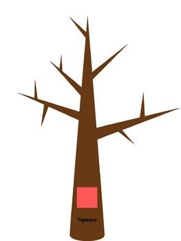Shape matching trees