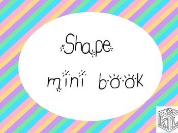 Shape mini book