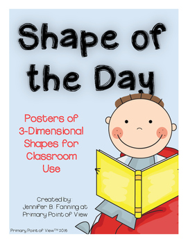 Shape of the Day - 3-D Shapes